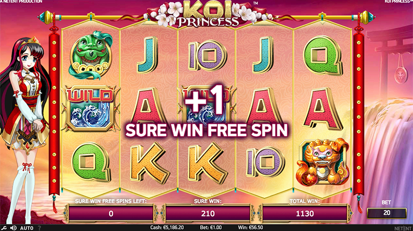 Koi Princess Slot Screenshot 3