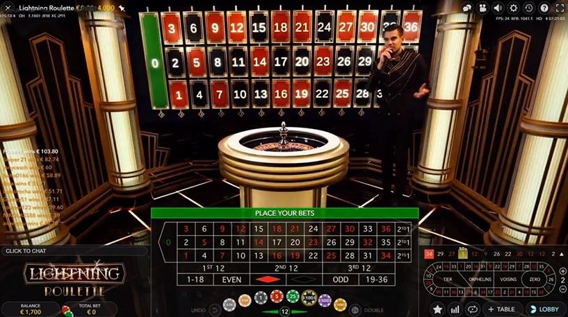 Lightning Roulette Screenshot 1