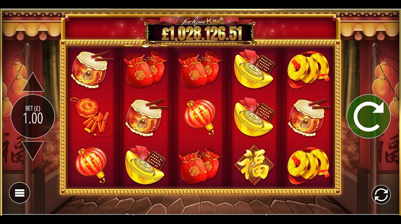 Lion Festival Slot Screenshot 1
