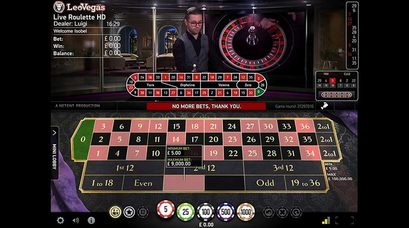 Live Roulette Pro Screenshot 1