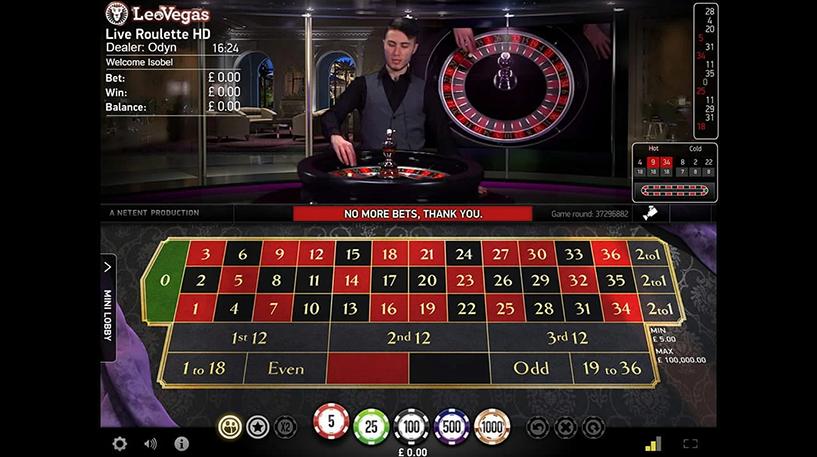 Live Roulette Pro Screenshot 2