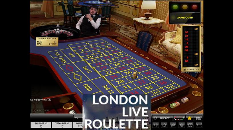 London Live Roulette Screenshot 3