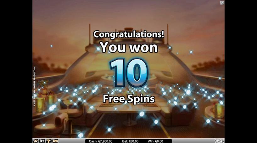 Mega Fortune Dreams Slot Screenshot 3