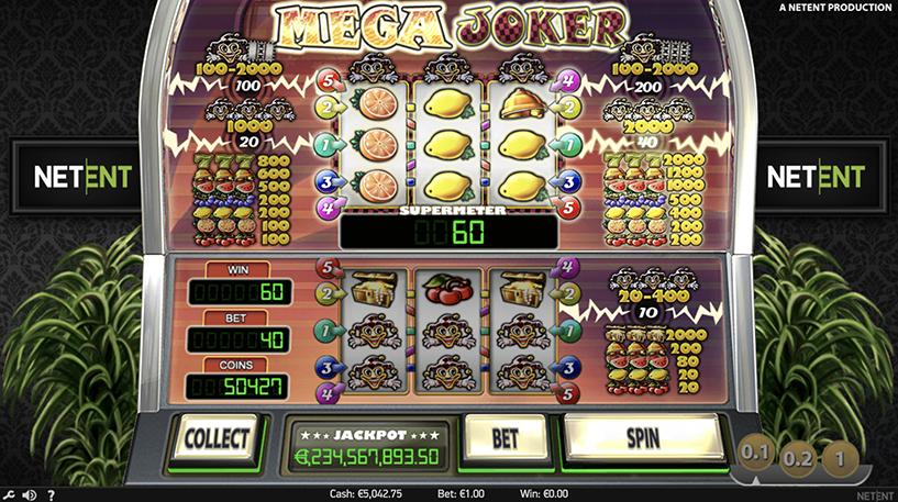 Mega Joker Slot Screenshot 2