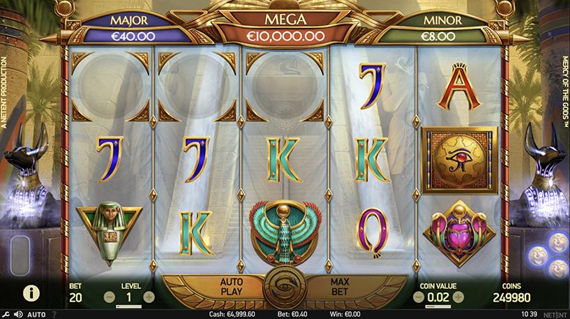 Mercy of the Gods Slot Screenshot 1