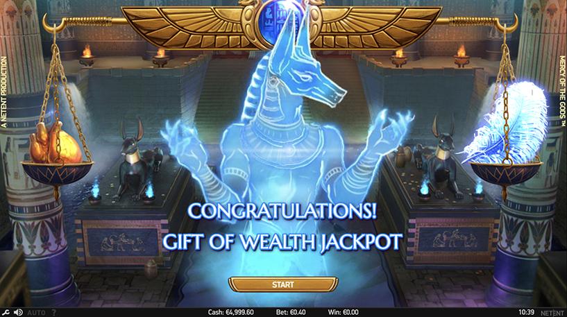 Mercy of the Gods Slot Screenshot 3