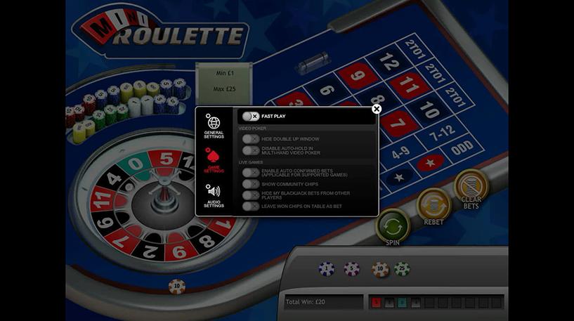 Mini Roulette Screenshot 1