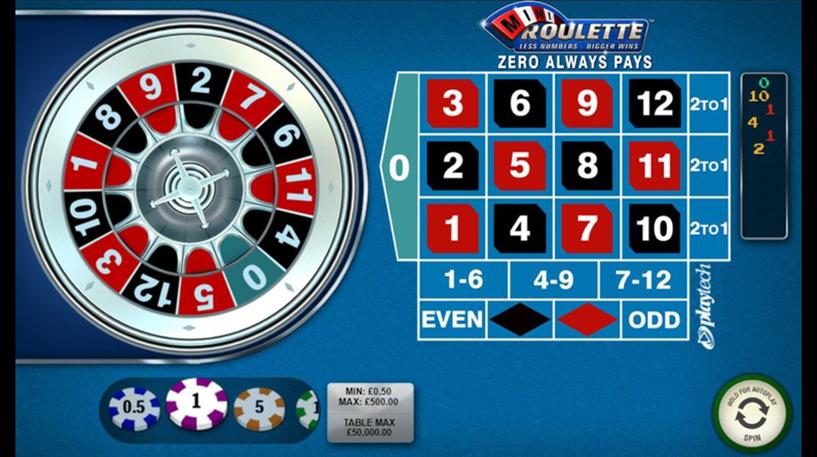Mini Roulette Screenshot 2