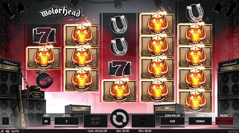 Motorhead Slot Screenshot 3