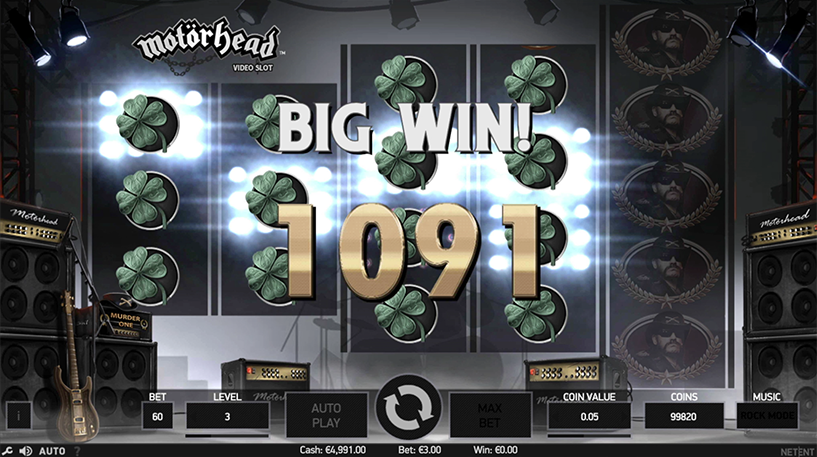 Motorhead Slot Screenshot 2