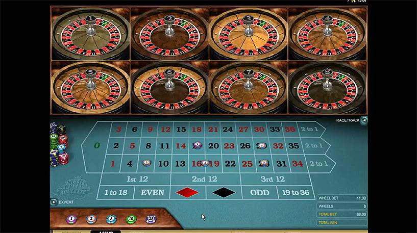 Multi Wheel Roulette Screenshot 1