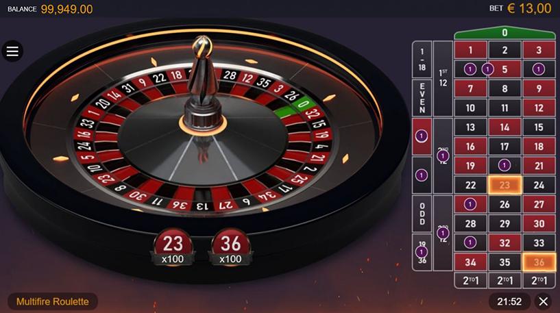 Multifire Roulette Pro Screenshot 1