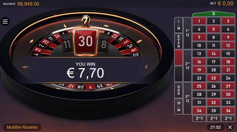 Multifire Roulette Pro Screenshot 3