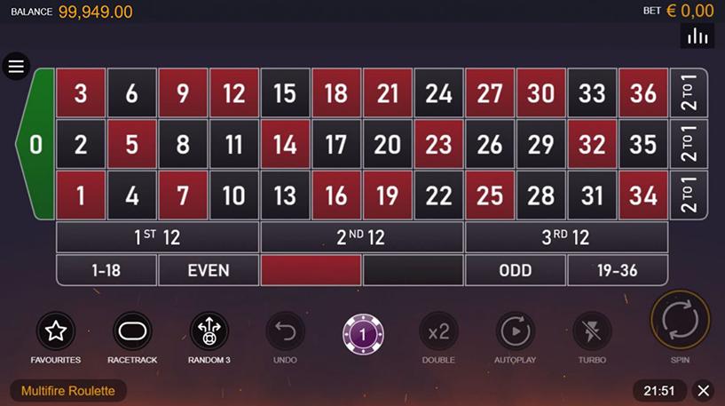 Multifire Roulette Pro Screenshot 2