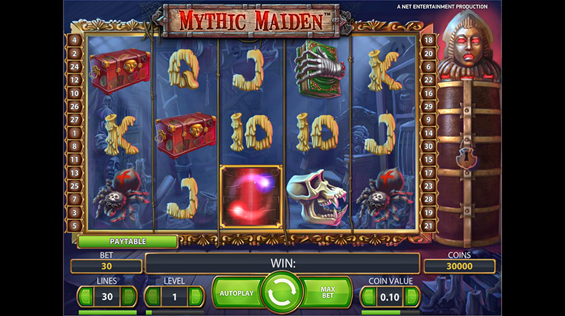 Mythic Maiden Slot Screenshot 3