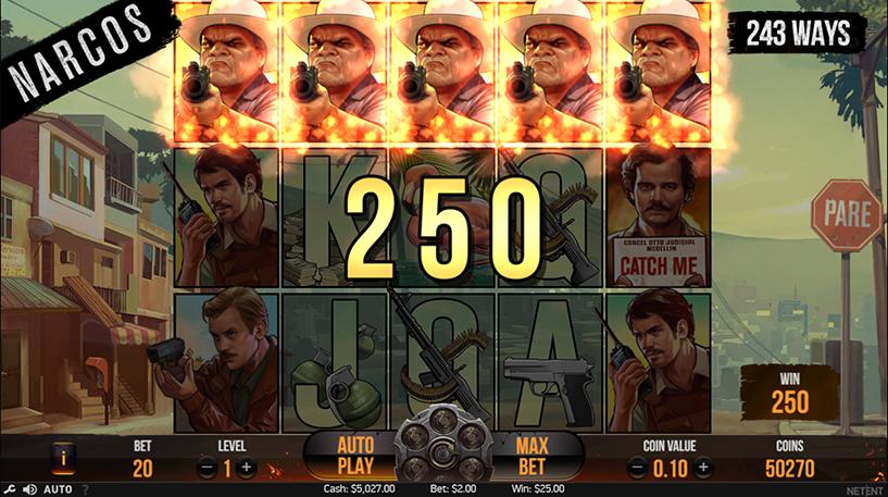 Narcos Slot Screenshot 1