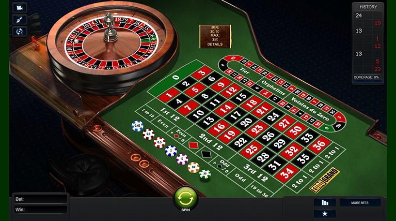 NewAR Roulette Screenshot 1