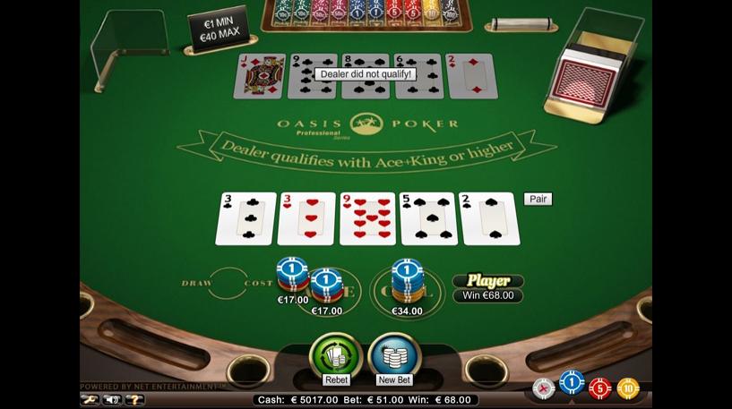 Oasis Poker Professional Series Screenshot 1