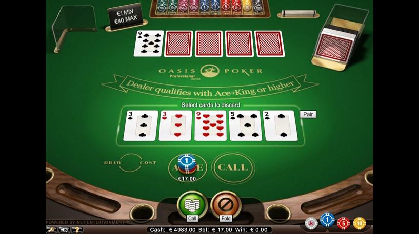 Oasis Poker Professional Series Screenshot 3