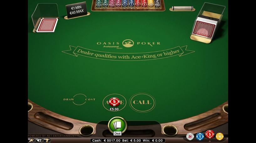 Oasis Poker Professional Series Screenshot 2