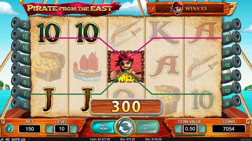Pirate from the East Slot Screenshot 3