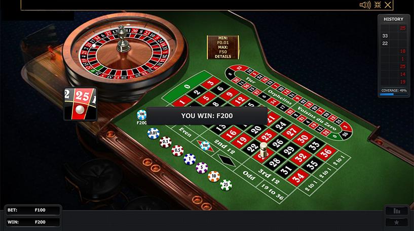 Premium European Roulette Screenshot 2