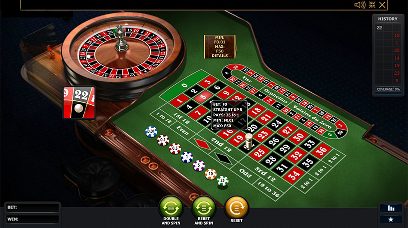 Premium European Roulette Screenshot 3