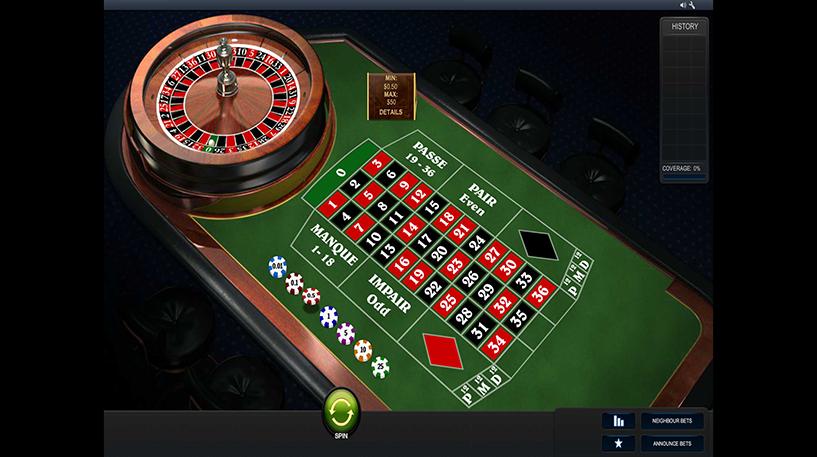 Premium French Roulette Screenshot 1