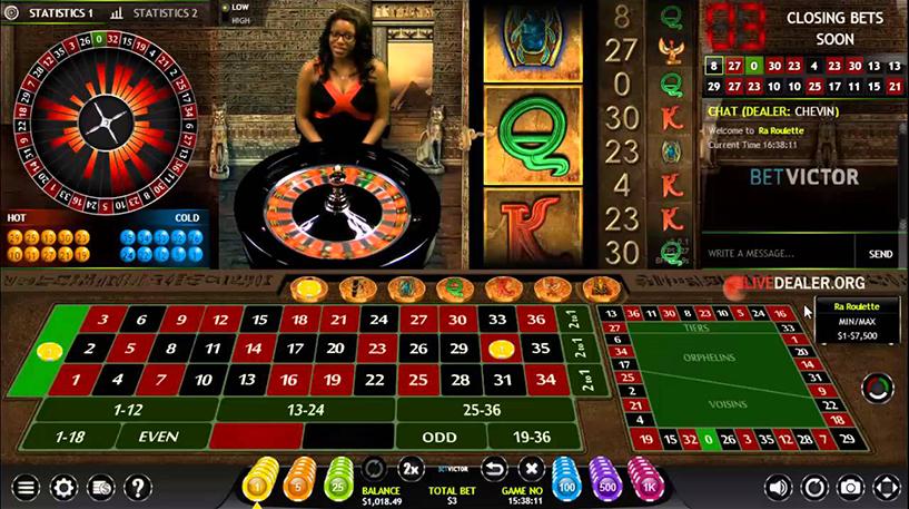 Ra Roulette Screenshot 1