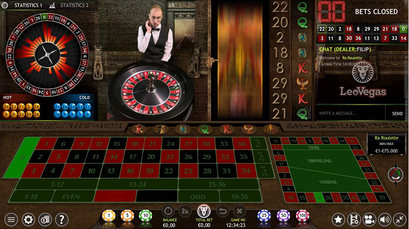 Ra Roulette Screenshot 2
