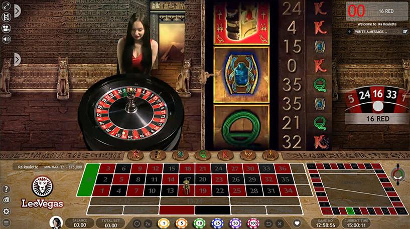 Ra Roulette Screenshot 3