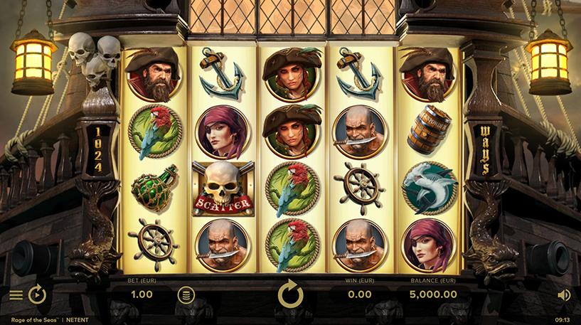 Rage of the Seas Slot Screenshot 3