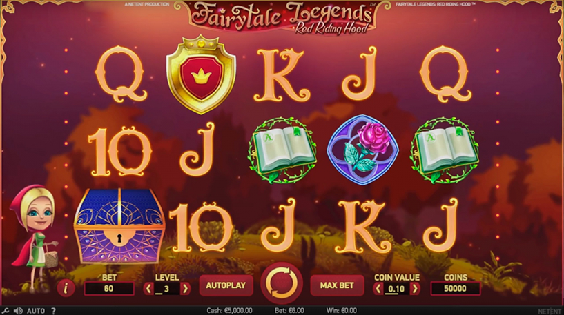 Red Riding Hood Slot Screenshot 2