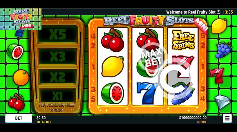 Reel Fruity Slots Mini Screenshot 1