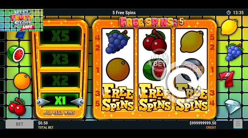 Reel Fruity Slots Mini Screenshot 3