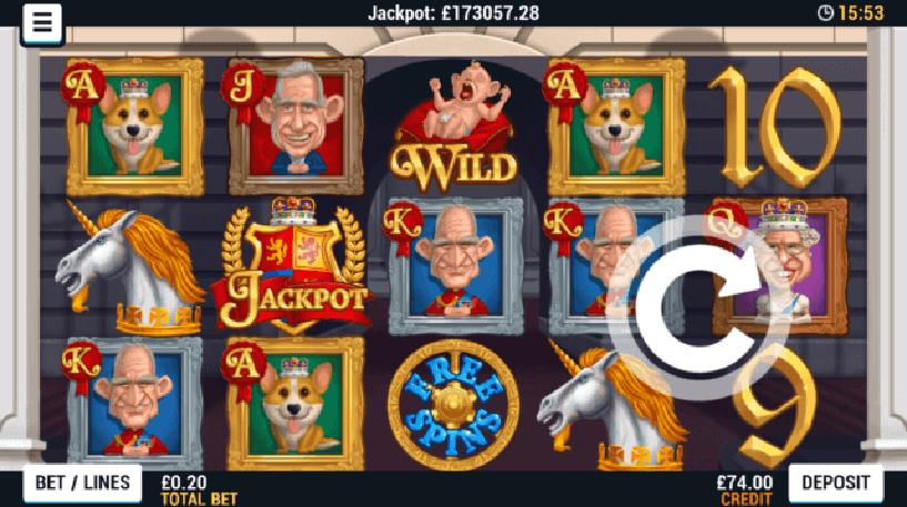Reel Royalty Slot Screenshot 1
