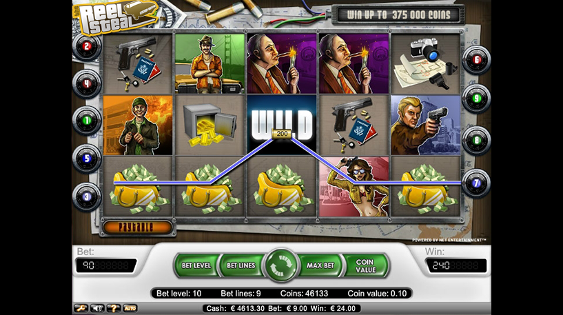 Reel Steal Slot Screenshot 3