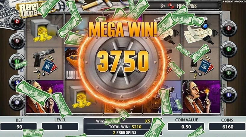 Reel Steal Slot Screenshot 1