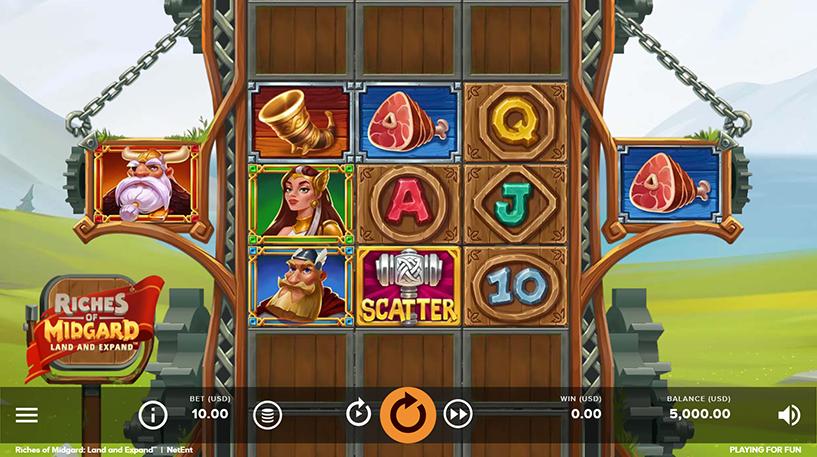 Riches of Midgard Slot Screenshot 1