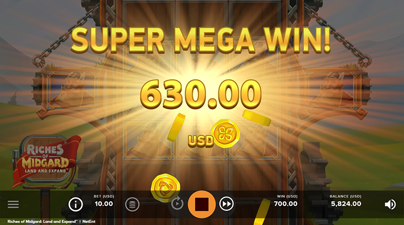 Riches of Midgard Slot Screenshot 3