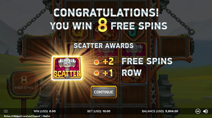 Riches of Midgard Slot Screenshot 2