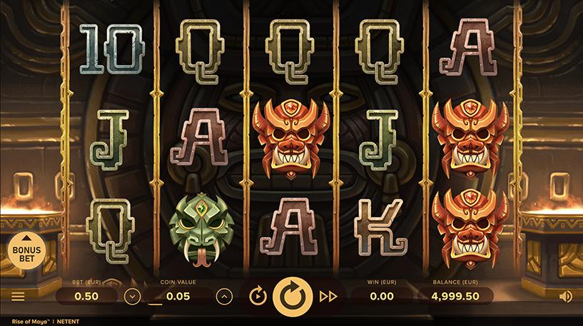 Rise Of Maya Slot Screenshot 3