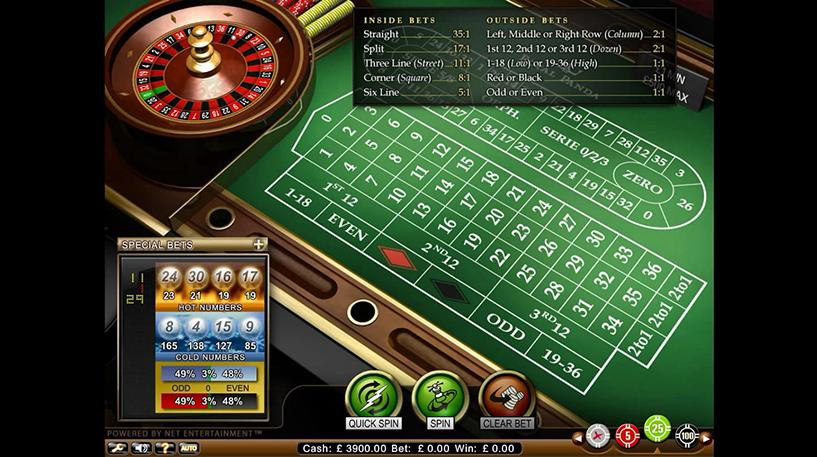 Roulette Professional Series Screenshot 3
