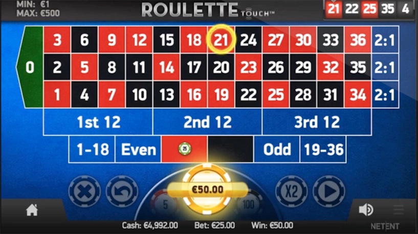 Roulette Touch Screenshot 3