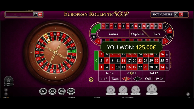 Roulette VIP Screenshot 1