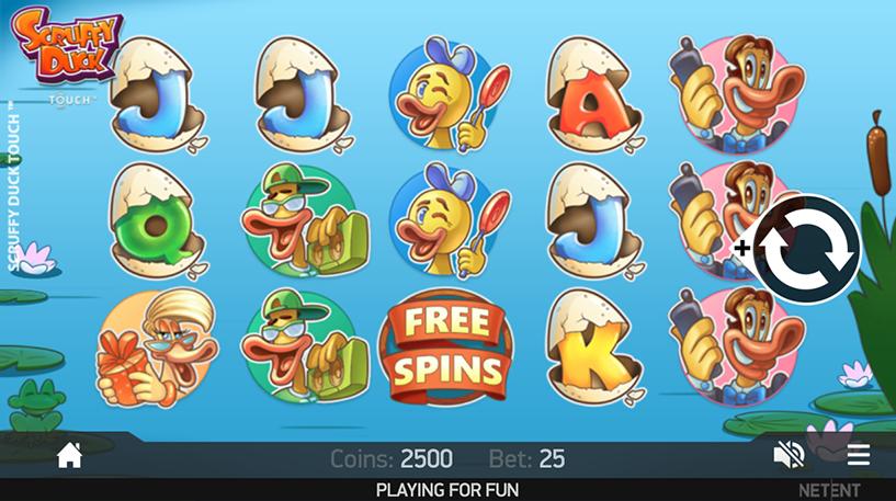 Scruffy Duck Slot Screenshot 3