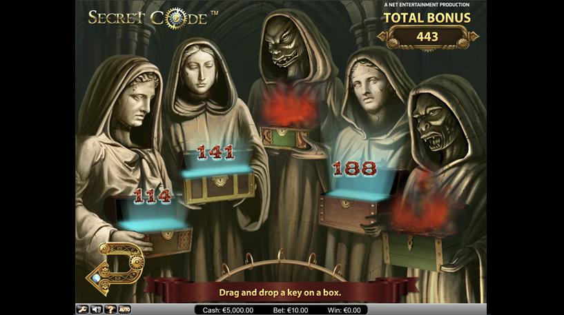 Secret Code Slot Screenshot 2