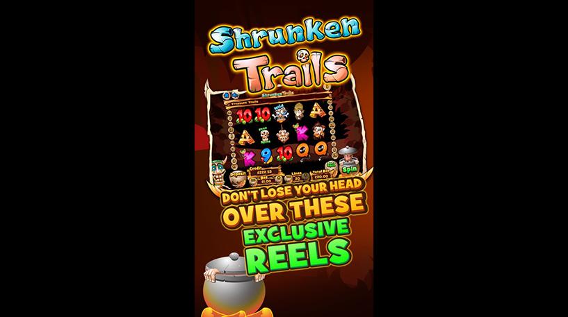 Shrunken Trails Slot Screenshot 3