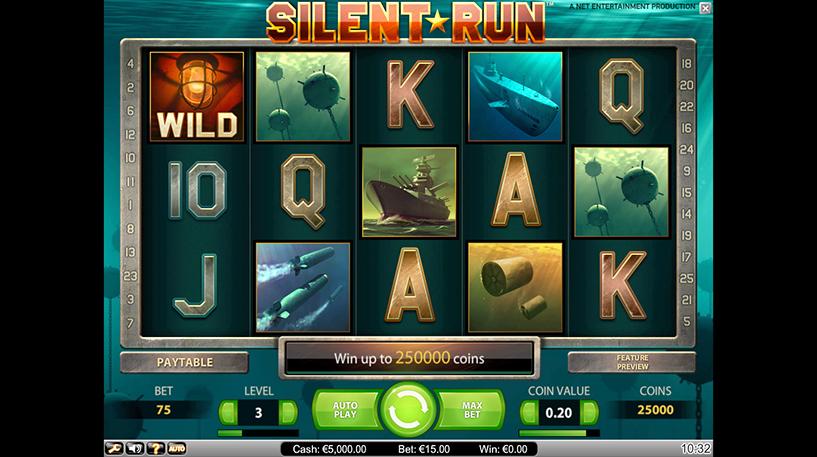 Silent Run Slot Screenshot 1