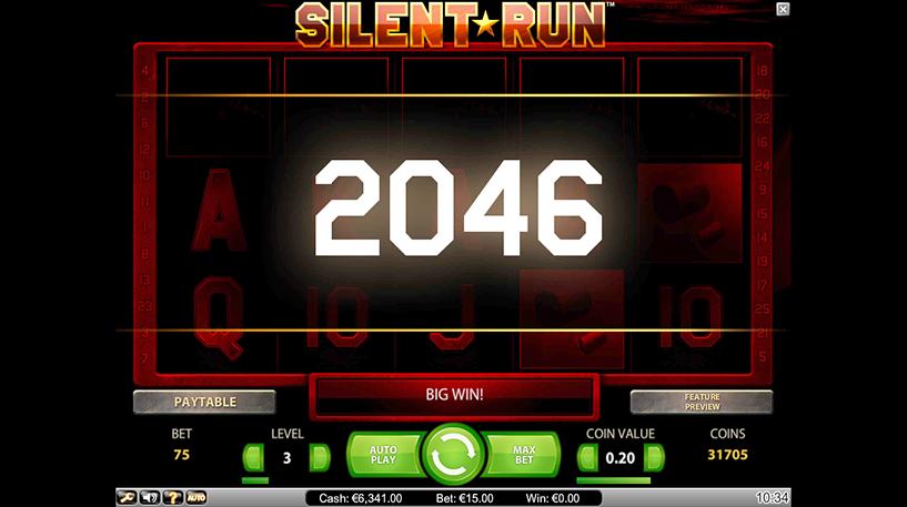 Silent Run Slot Screenshot 3